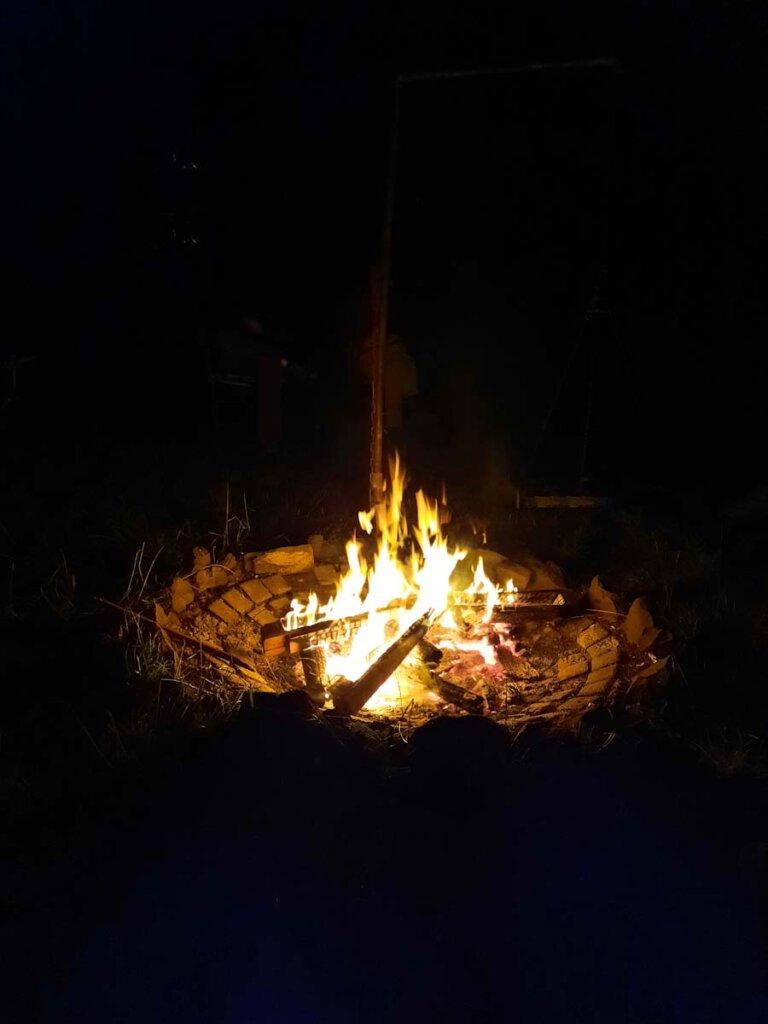 Lagerfeuerromantik in der Eifel