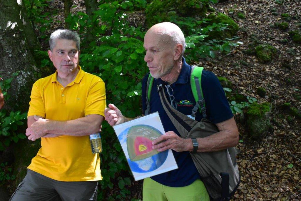 Mit Geoparkführer Johannes Munkler in den Gerolsteiner Dolomiten