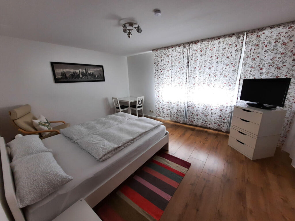 Unser Schlafzimmer in der Ferienwohnung Panoramaweg